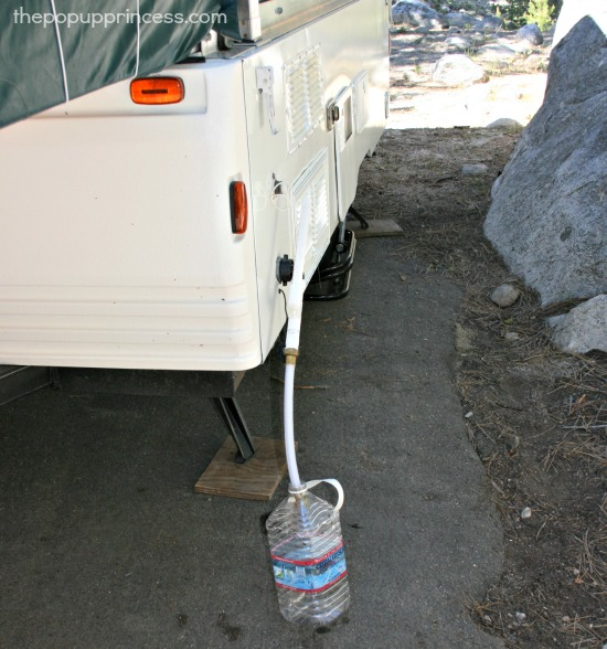 Pop Up Camper Gray Water Mod