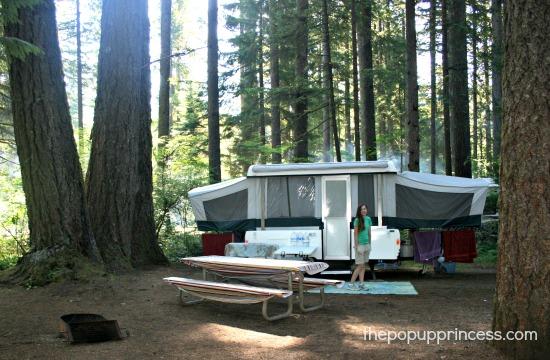 Pop Up Camper Setup