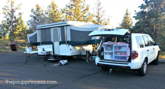 Camping at Lava Beds National Monument