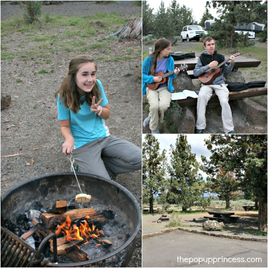 Pop Up Camping in Lava Beds National Monument