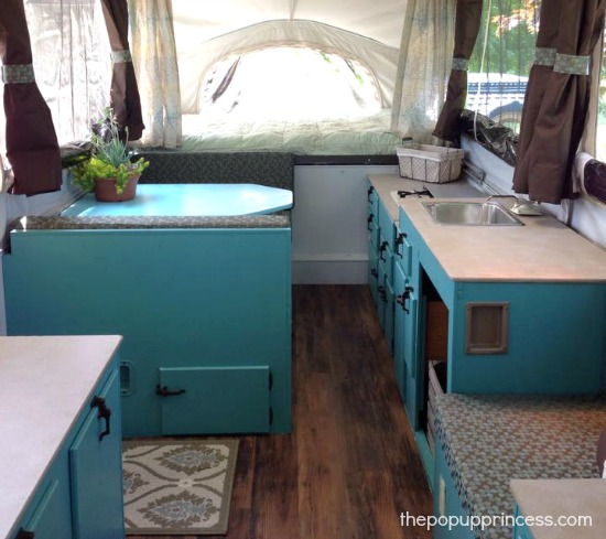 Pop Up Camper Redo