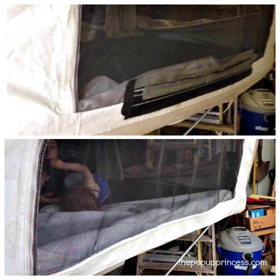 Repairing PopUp Camper Canvas