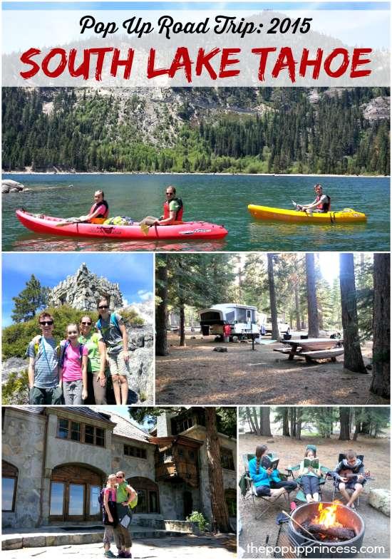 Camping in South Lake Tahoe