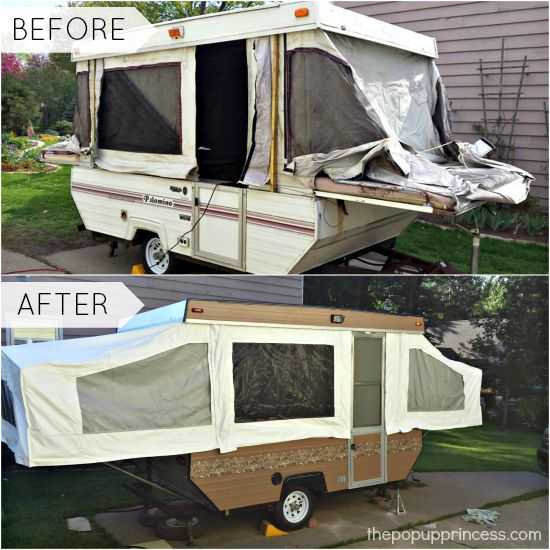 Robert 39 S Pop Up Camper Remodel The Pop Up Princess