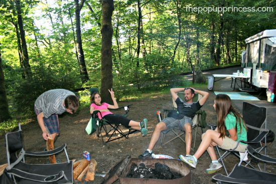 Camping at Ainsworth State Park