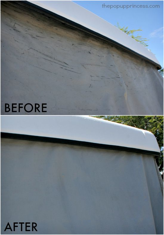 How To Clean Amp Care For Your Pop Up Camper Exterior The