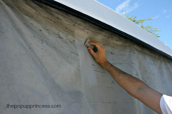 Cleaning Pop Up C&er Vinyl & How to Clean u0026 Care for Your Pop Up Camper Exterior - The Pop Up ...