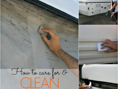 How to Clean & Care for Your Pop Up Camper Exterior