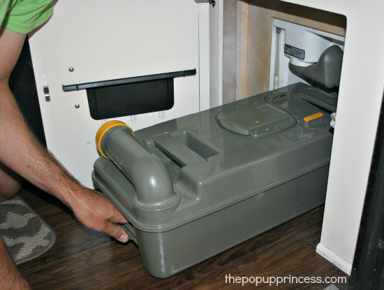 Adding Chemicals to a Pop Up Camper Toilet