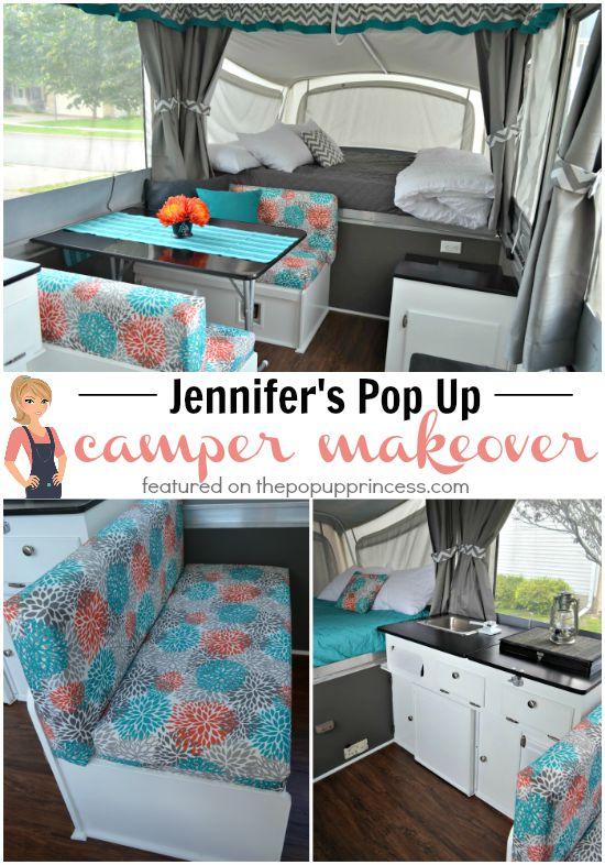Jennifer S Pop Up Camper Makeover The Pop Up Princess