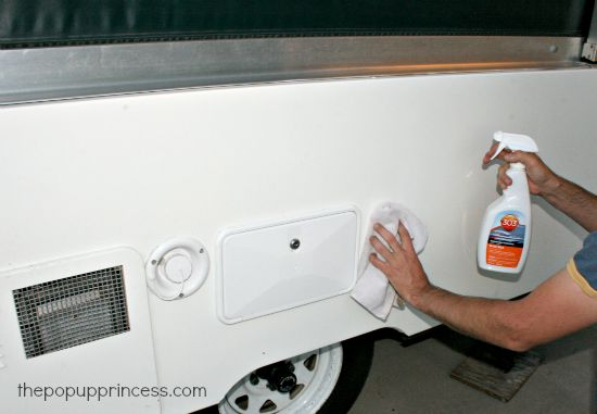 How To Clean Care For Your Pop Up Camper Exterior The Pop Up Princess