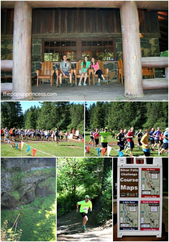 Silver Falls State Park Trail Run