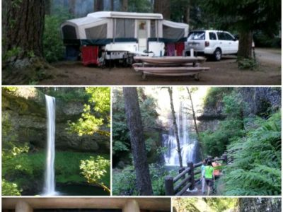Pop Up Road Trip 2015:  Silver Falls State Park