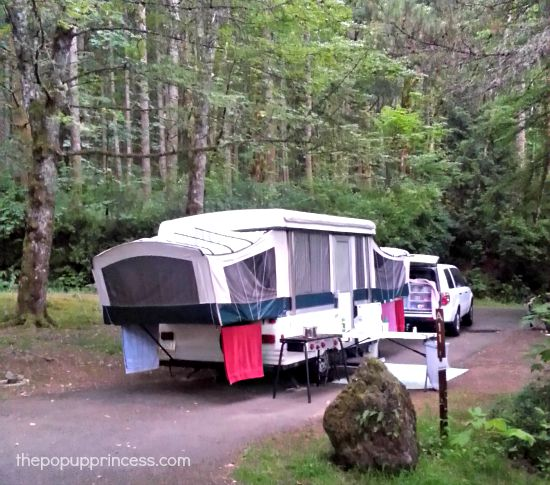 Pop Up Camping at Ainsworth State Park