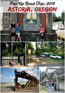 Pop Up Road Trip 2015: Astoria, Oregon