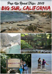 Pop Up Road Trip 2015:  Big Sur, California