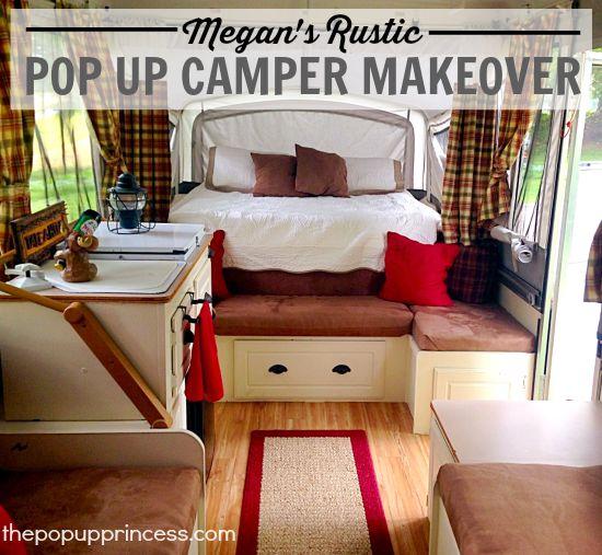 Megan S Pop Up Camper Makeover The Pop Up Princess