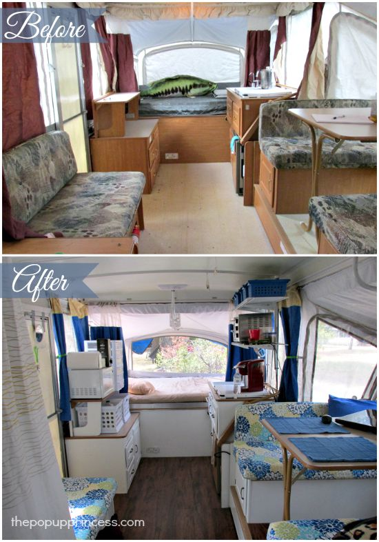 Anne 39 S Pop Up Camper Makeover The Pop Up Princess