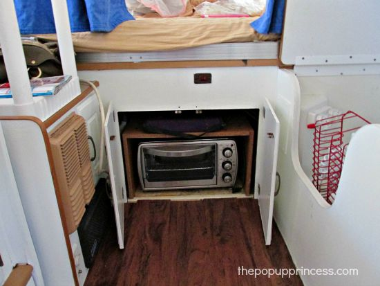 Pop Up Camper Storage