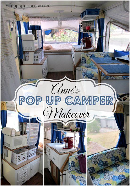 Anne S Pop Up Camper Makeover The Pop Up Princess