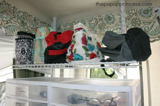 Organizing a Pop Up Camper