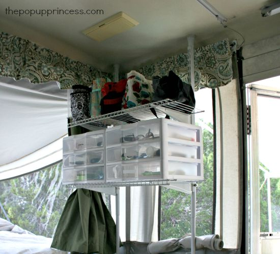 How We Organize Our Pop Up Camper The Pop Up Princess
