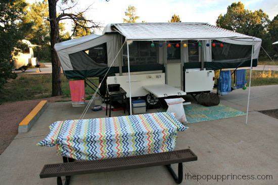 Pop Up Camping