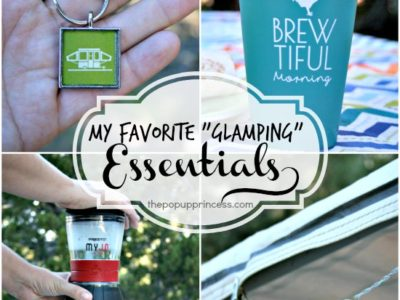 A Few of My Favorite {Glamping} Essentials