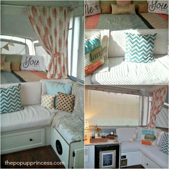 Glenda S Pop Up Camper Makeover The Pop Up Princess