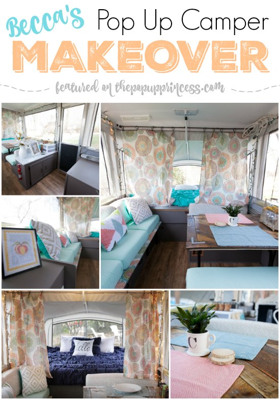 Pop Up Trailer Makeover