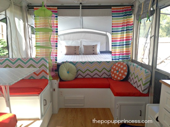 Pop Up Camper Repurpose