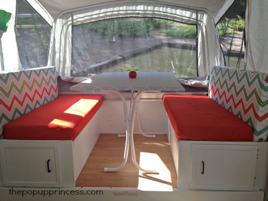 Pop Up Trailer Cushions