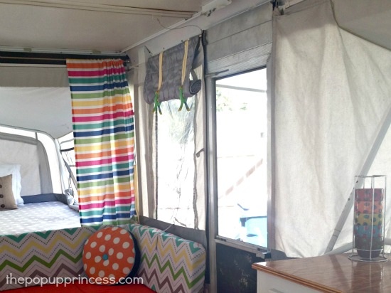 Pop Up Camper Window Shades
