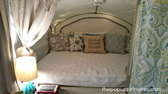 Pop Up Camper Bedroom. Hollie s Pop Up Camper Makeover   The Pop Up Princess