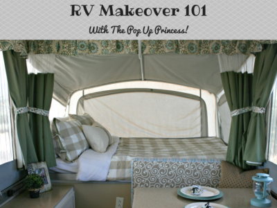 RV Makeover 101 with RV Family Travel Atlas