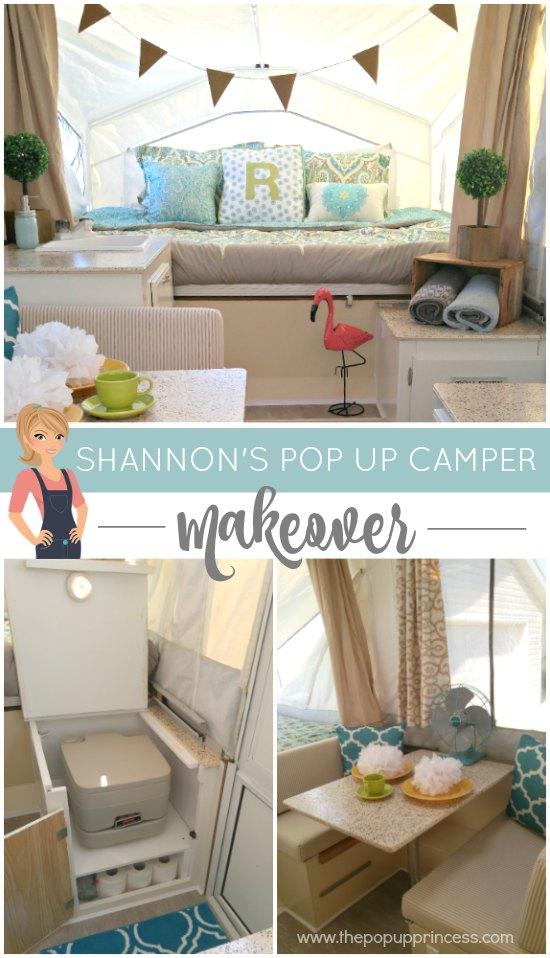 Shannon S Pop Up Camper Makeover The Pop Up Princess