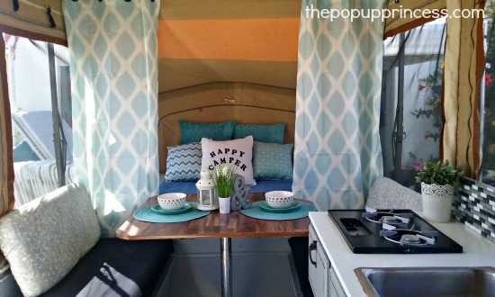 Ramona\'s Pop Up Camper Makeover - The Pop Up Princess