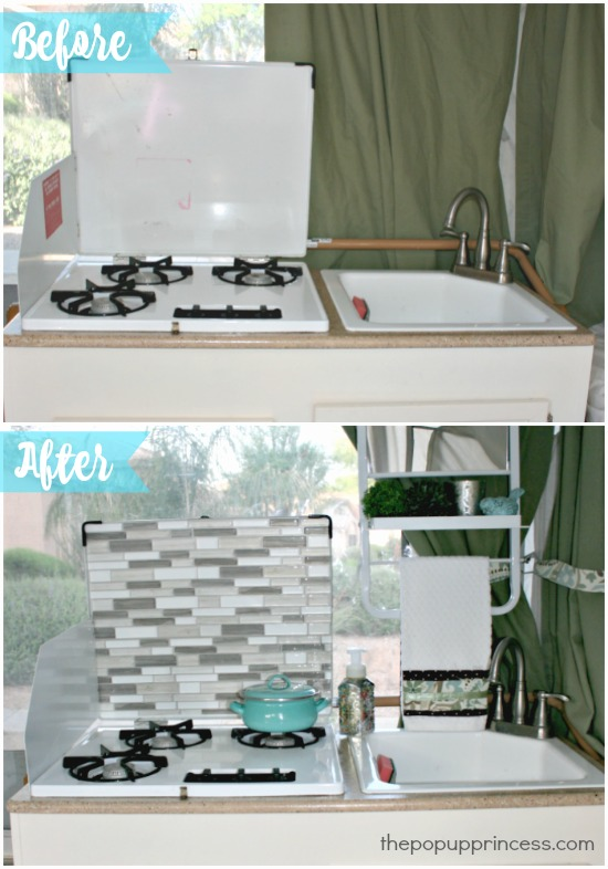 Easy Pop Up Camper Tile Backsplash The Pop Up Princess