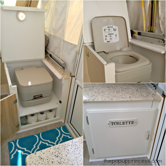 Pop Up Camper Toilet