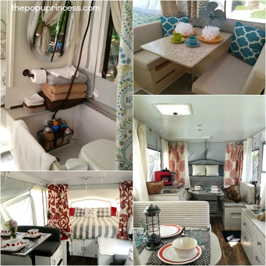 Pop Up Camper Makeovers