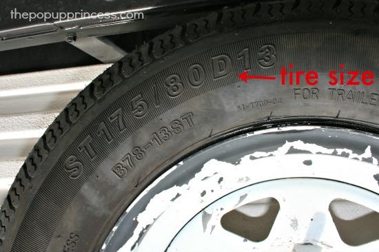 Camper Spare Tire Cover