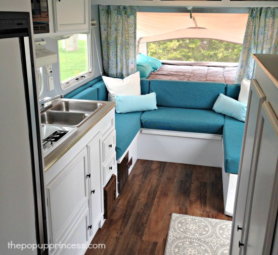 Cassie 39 S Hybrid Travel Trailer Makeover The Pop Up Princess