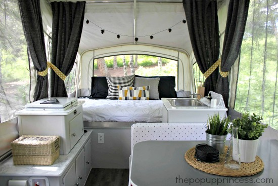 Pop Up Trailer Remodel