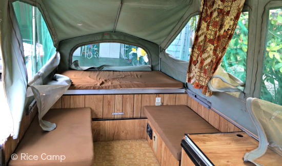 Pop Up Camper Interior Makeover