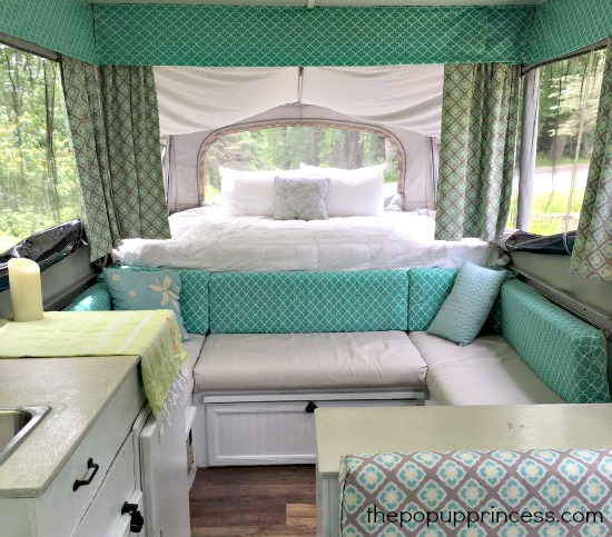 Amy Bell S Pop Up Camper Makeover The Pop Up Princess