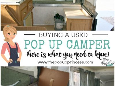 Buying a Used Pop Up Camper