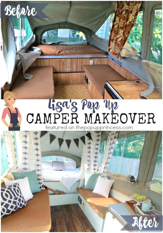 Lisa s pop up camper makeover the pop up princess