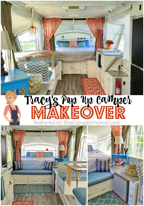 Tracy S Pop Up Camper Makeover The Pop Up Princess