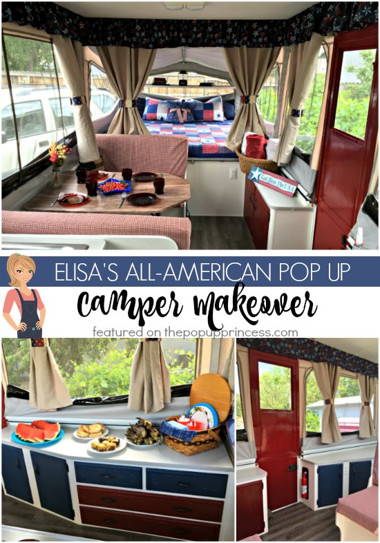 Elisa's Pop Up Camper Makeover - The Pop Up Princess
