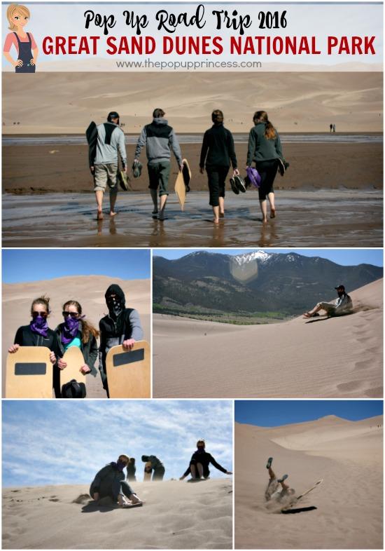 Pop Up Road Trip 2016: Great Sand Dunes National Park